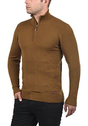 BLEND Robin - maglione da Uomo Dark Mustard (75116)