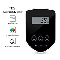 BluCos TDS Meter for RO System, Water Quality Tester Accurate Professional TDS Meter Digital Water Tester, Quick Connect TDS Monitor Fits for iSpring, APEC Water Systems, Express Water and more
