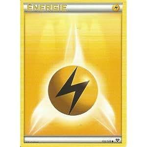 Carte Pokémon 135/146 ENERGIE ELECTRIQUE Série XY NEUVE FR - Jeu de cartes à jouer et à collectionner