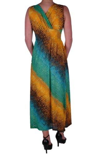 EyeCatch - Robe longue imprimés - Fran - Femme - Taille unique Conception 7