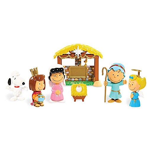 Peanuts Christmas Nativity Deluxe Figure Set by Peanuts