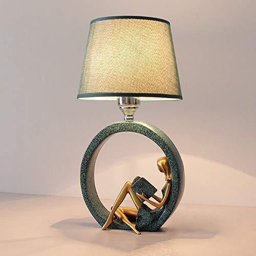 Vinteen Tischlampe Desktop Lichter Schlafzimmer Nachttisch Licht Kreative Romantische Warme Persönlichkeit Einfache Moderne Nordischen Stil Harz Dekorative Lichter -