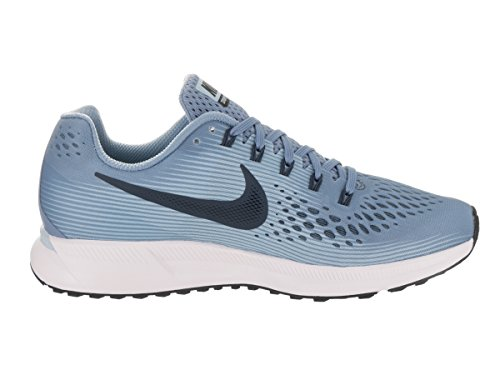 Nike Wmns Air Zoom Pegasus 34, Chaussures de Running Compétition femme Wolf Blue/Black/Ice Blue/White