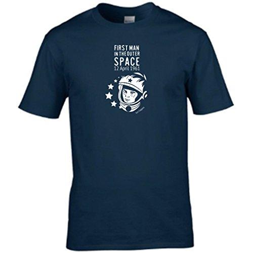 S Tees -  T-shirt - Collo a U  - Maniche corte  - Uomo Navy