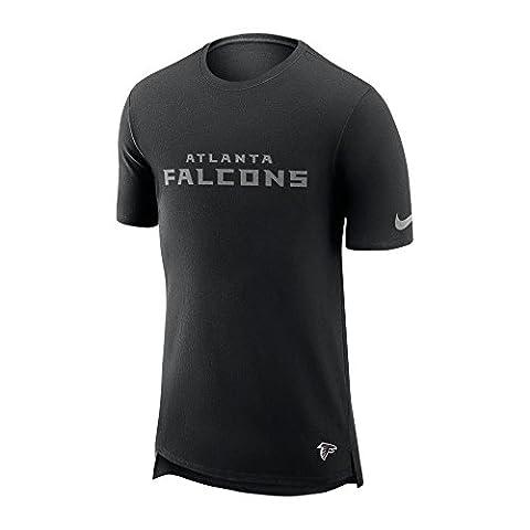 Nike NFL Atlanta Falcons Enzyme Droptail Logo T-Shirt Large