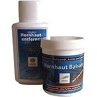 Fusspflege-Set aus flüssigem Hornhautentferner und Hornhautbalsam, je 250 ml preisvergleich bei billige-tabletten.eu