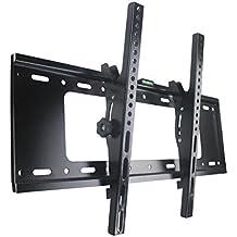 Support Mural TV Inclinable Universel pour LCD LED écran Plat Plasma Moniteur 32 37 40 42 43 46 47 50 51 52 55 58 63 64 65 Pouce Max VESA 600mm × 400mm et 50kg
