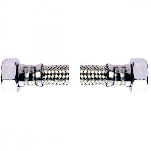 flexible sanitaire - femelle / femelle - 12 x 17 - dn8 - longueur 500 mm