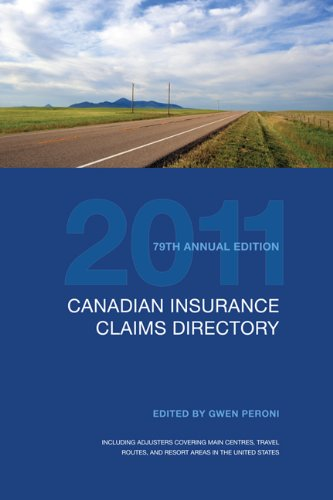 CICD 2011 (Canadian Insurance Claims Directory)