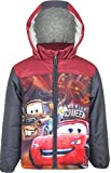 Disney Cars Lightning McQueen Kinder Winter Gefütterte Jacke (3 Jahre, Grau)