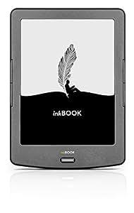 """E-Reader inkBOOK Classic 2 - schermo touch da 6"""" e-Paper E Ink Carta, Android, App Store e Miglioramento della Leggibilità, Wi-Fi, 4 GB, slot di memoria Micro-SD"""