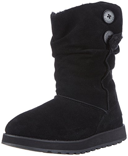 Skechers Keepsakes Freezing Temps, Damen Halbschaft Stiefel, Schwarz (BLK), 39 EU