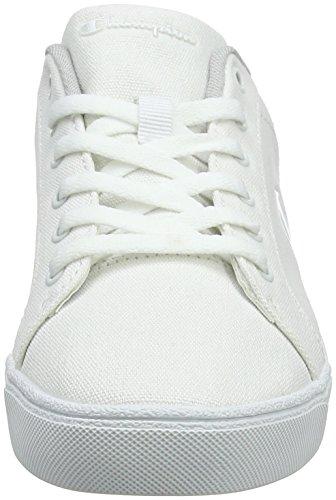 Champion Damen Low Cut Shoe Alex Canvas Sneaker Weiß (White WW001)