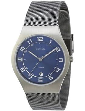 BERING Time Herren-Armbanduhr Slim Classic 11937-078