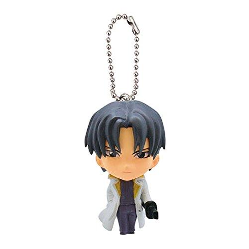 Preisvergleich Produktbild Rurouni Kenshin Figure Swing Keychain~Shinomori Aoshi