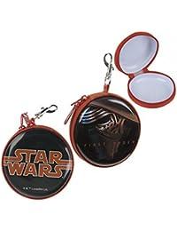 Official Licensed Boys Star Wars Black & Orange Coin Purse