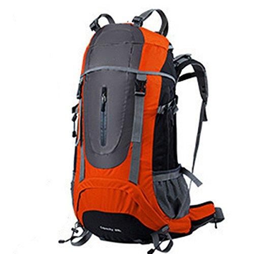 Zaino Da Viaggio Zaino Da Viaggio Sportivo Outdoor Borsa Da Viaggio Leggera Leggera E Durevole,Blue Orange
