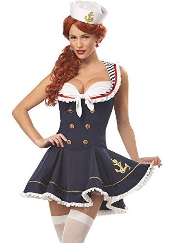 en und amerikanischen Stil sexy Unterwäsche navy Seemannkleid Cosplay Kostüm Rollenspiel- Party-Spiele , m ()