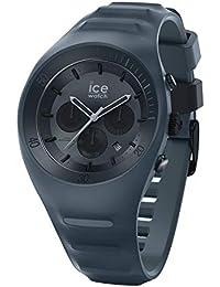 Ice-Watch - P. Leclercq Black - Montre noire pour homme avec bracelet en silicone - Chrono - 014944 (Large)