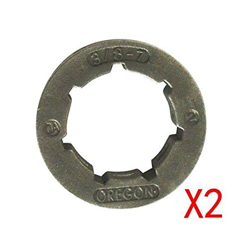 Generic Lot 7T dents 3/20,3 cm Tambour d'embrayage Jante Pignon pour Stihl 038 ms380 ms381 Tronçonneuse