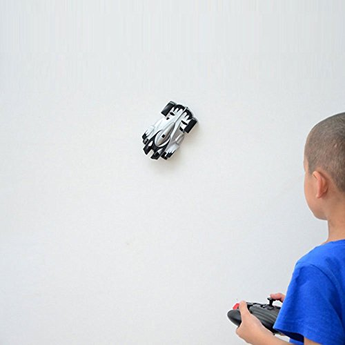 bestpd BestOfferBuy 4CH Remote Control RC Spiderman Wall Climbing Climber Stunt Car Toy Black  available at amazon for Rs.799
