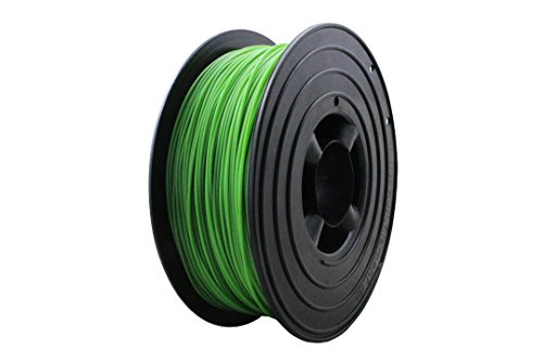 3D Filament 1kg B-Ware Filament Rolle in verschiedenen Farben Rot Gold Silber Grün Blau Braun Lila Violett Beige Transparent Gelb Orange Schwarz Weiß (Gras-Grün (B-Ware)) -