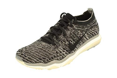 NikeLab Air Zoom Fearless Flyknit Damen Running 878558 Sneakers Turnschuhe (UK 6 US 8.5 EU 40, Black Black sail 001)