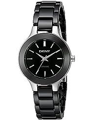 DKNY Damen-Armbanduhr Analog Quarz Keramik NY4887