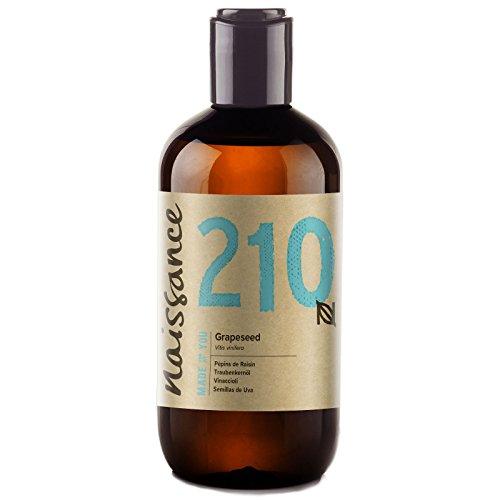 Naissance Huile de Pépins de Raisin (n° 210) - 250ml - 100% pure et naturelle,...