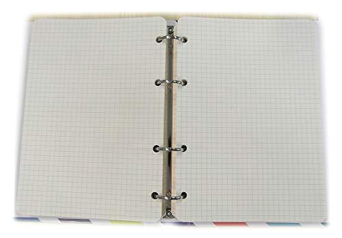 Recambios de agenda A5 15x20cm - 4 anillas