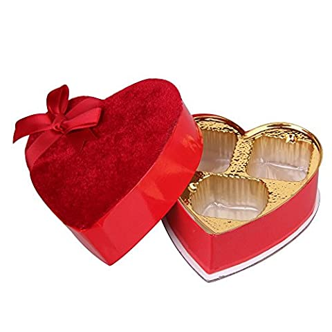 Chocolate GIFT BOXES wholesale 15PC Heart Shaped Jewel Wedding Favour Candy Sweets