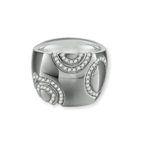Esprit Damen-Ring Breaking Waves Sterling-Silber 925 Gr. 56 (17.8) ESRG-91234.A.18