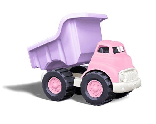 Green Toys- Camión de Escombros (Rosado), (1203298)