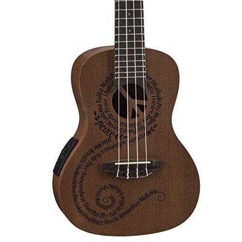 Luna Guitars UKEMALUEL Peace concert mah