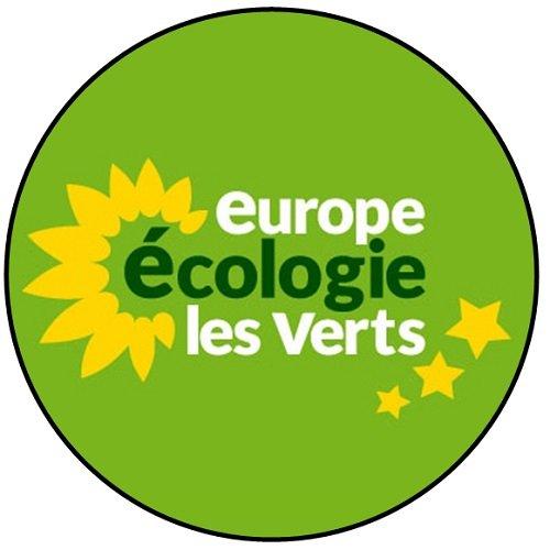 Europa Ökologie die grünen-Französisch Politik-Buttons/Magneten/Schlüsselanhänger-Flaschenöffner, Badge (58mm), Badge (58mm)
