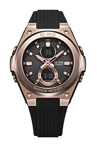 CASIO Damen Analog - Digital Quarz Uhr mit Resin Armband MSG-C100G-1AER