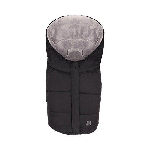 """BABYCAB Winter-Fußsack\""""Eiger\"""" grau/Thermo-Fußsack mit Reißverschluss - für Babyschale, Tragewanne, Buggy und Kinderwagen"""
