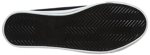New Look Marker-Lace Up, Sneaker a Collo Basso Donna Nero (Black)