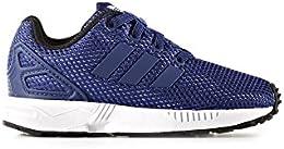 Adidas - Adidas ZX Flux El I Scarpe Sportive Bambino Blu Tela - Blu, 19