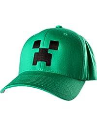 Casquette Minecraft Creeper Vert