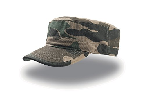 Cappellino trendy in cotone - Tank Verde