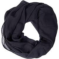 ManuMar Loop-Schal für Damen | feines Hals-Tuch mit Unifarben | Schlauch-Schal - Das ideale Geschenk für Frauen