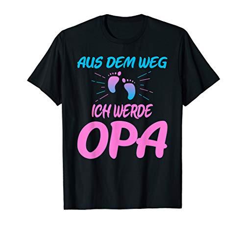 ch werde Opa Baby Ankündigung T-Shirt ()