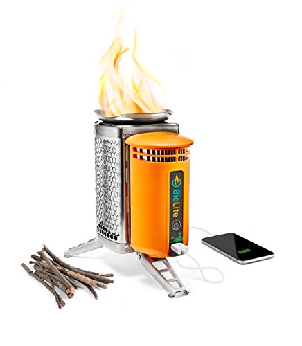 BioLite Camping Kocher Camp Stove und Flex Light,  	BL1