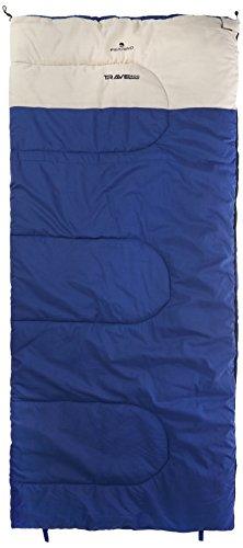 Ferrino Travel 200 blau Deckenschlafsack kompl. zu öffnen, Innenmaterial Baumwolle - 2