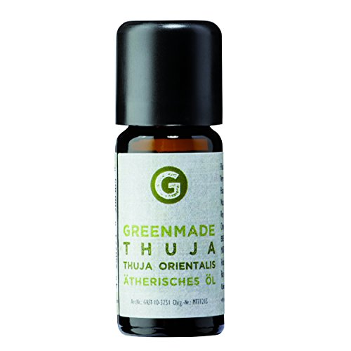 Thuja Öl 10ml - 100% naturreines, ätherisches Öl von greenmade