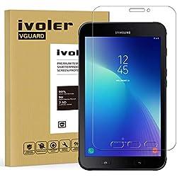 iVoler Verre Trempé Compatible avec Samsung Galaxy Tab Active 2 8.0 SM-T390 / SM-T395, Film Protection en Verre trempé écran Protecteur Vitre