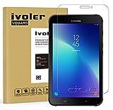 ivoler Vetro Temperato Compatibile con Samsung Galaxy Tab Active 2 8.0 SM-T390 / SM-T395, Pellicola Protettiva, Protezione per Schermo