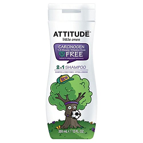 L'Attitude Éco Enfants 2En1 Shampooing Hypoallergénique (355Ml)