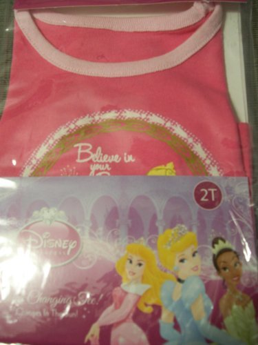 r Changing Tee size 2T (Dark Pink - Believe in Your Dreams) by Disney ()